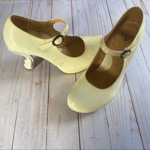 """Fluevog """"Elizabeth"""" claw heels"""